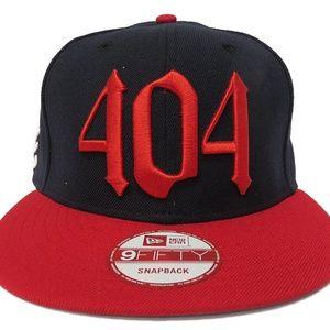New Era 404 'Atlanta Braves' Adjustable Snapback
